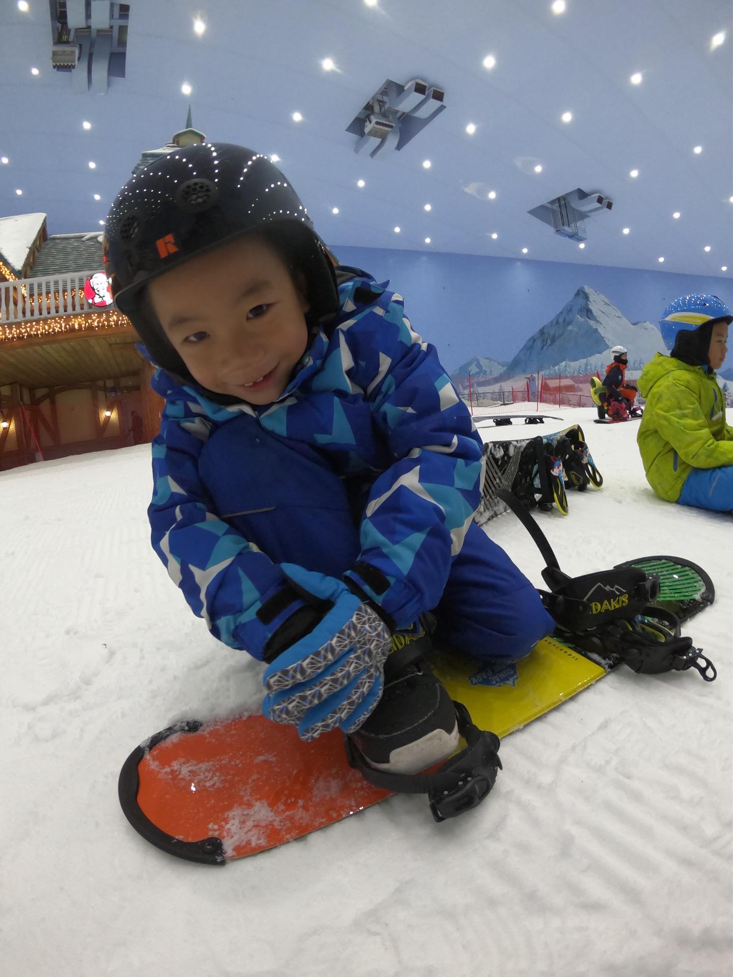 广州融创雪世界 单板学习3天